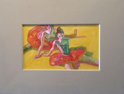 John Asaro, 'Dancers Green', 2016