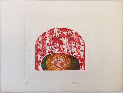 "Martin Barooshian, 'Grouping of 4 Works - ""Flamingos"", ""She Wolf"", ""Rabbits"", ""Barbary Ape""', Year Unknown"