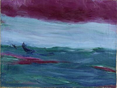 Emil Nolde, 'Hohe See', 1924