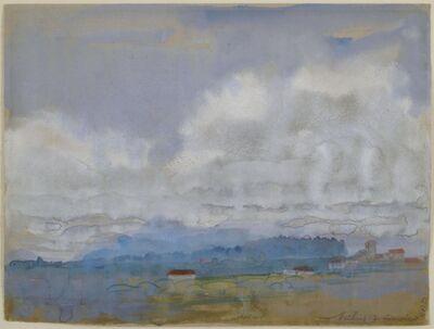 Arthur Bowen Davies, 'Misted Hills', ca. 1922