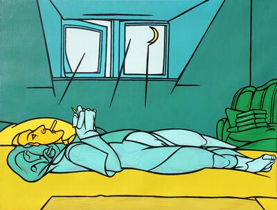 Valerio Adami, 'Dormire dormire - studio', 1988