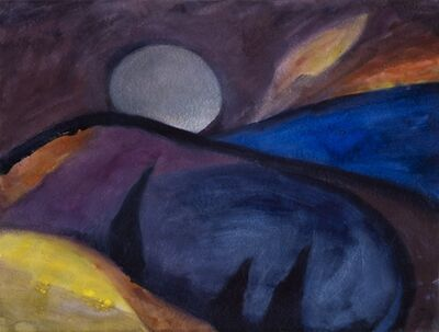 Herbert Beck, ' Vollmond ', ca. 2000