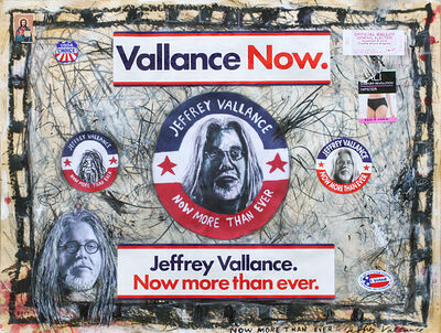 Jeffrey Vallance, 'Now More Than Ever', 2017