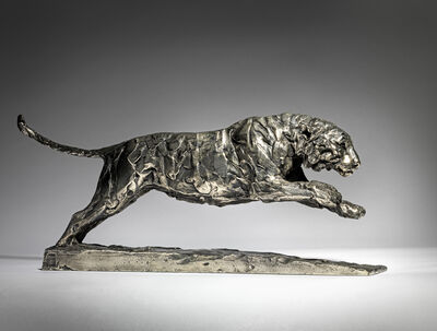 Mark Coreth, '5. Leaping Amur Tiger', 2019