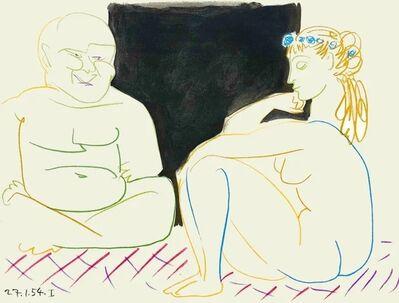 Pablo Picasso, 'Comédie Humaine (27.1.54 I)', 1954
