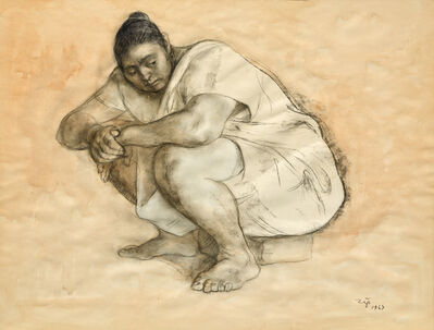 Francisco Zúñiga, 'Seated Woman', 1967
