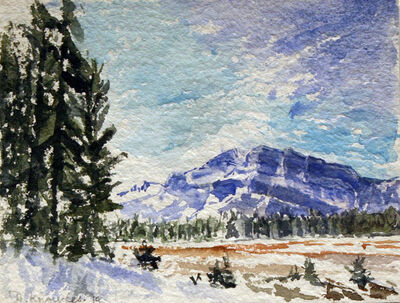 Dorothy Knowles, 'May in the Mountains'