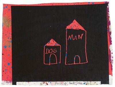 Walter Dahn, 'DOG MAN', 1985