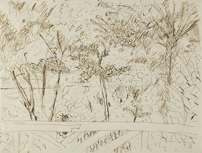 Pierre Bonnard, 'The View from the Terrace at Vernon', ca. 1918
