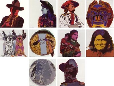 Andy Warhol, 'Cowboys and Indians', 1986