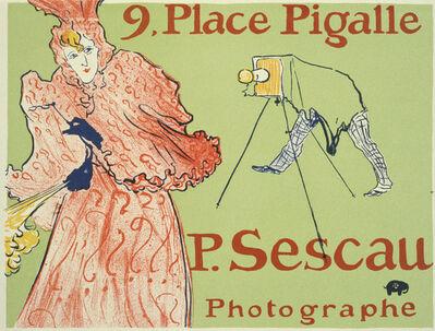 Henri de Toulouse-Lautrec, 'Palace Pigalle - Le Photographe Sescau', 1896
