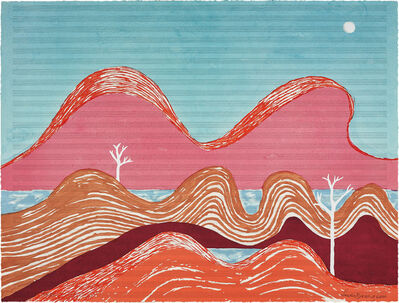 Louise Bourgeois, 'Beautiful Night, from BAM portfolio', 2004