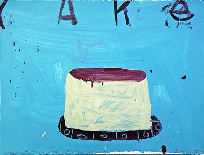Gary Komarin, 'Cake (Turquoise & Brown)', 2014
