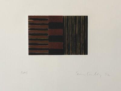 Sean Scully, 'Heart of Darkness 3', 1992