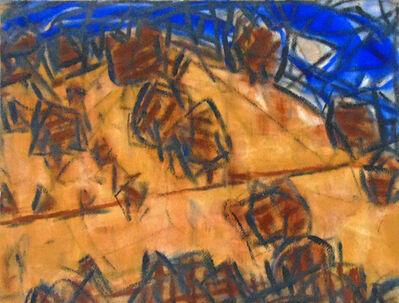 Christian Rohlfs, 'Trees on the Hillside   Bäume am Hang'