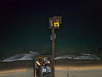 Jeffrey Milstein, 'LA 22 Santa Monica Pier', 2014