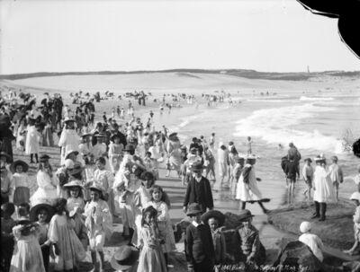 Henry King, 'Bondi Bay, Sydney', ca. 1900