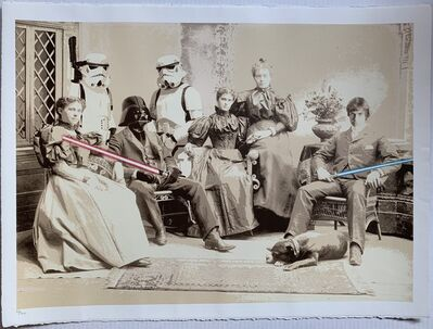 Mr. Brainwash, 'Star Wars Reunion', 2009