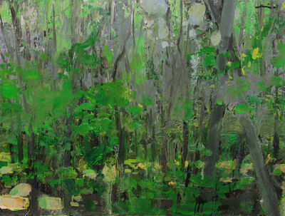 Mia Bergeron, 'Green Forest'