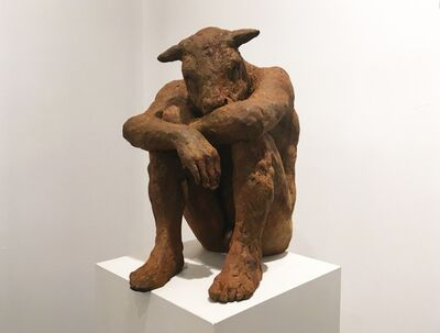 Beth Carter, 'Sitting Minotaur '
