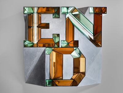 Doug Aitken, 'END (mirror)  Version 4 of 4 with 2 APs', 2014