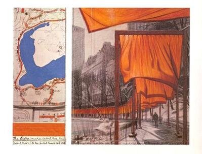 Christo, 'The Gates (e)', 2004