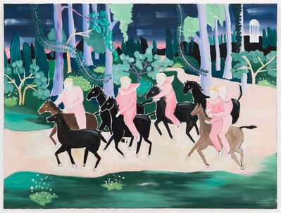 Claire Milbrath, 'Night Escape (Night Riders)', 2018