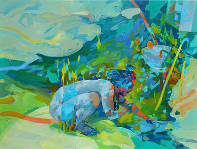 Melinda Matyas, 'Creating Stories out of Mud and Water', 2018