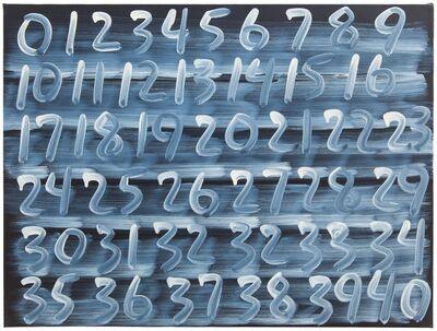 Mel Bochner, 'Counting', 2000