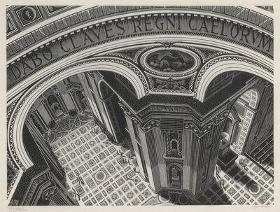 Maurits Cornelis Escher, 'Inside St Peter's (Bool/Kist/Locher/Wierda 270)', 1935