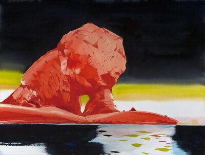 Scott Kelley (b. 1963), 'Dusk and Dawn, Loudwater Cove, Antarctica'
