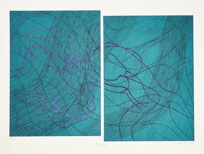 Stanley William Hayter, 'Diptych [Black & Moorhead]', 1967