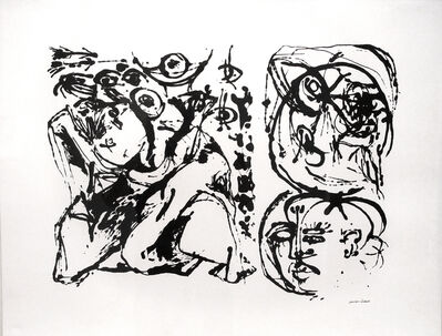 Jackson Pollock, 'Untitled, CR1096 (After painting Number 27, CR328)', 1951