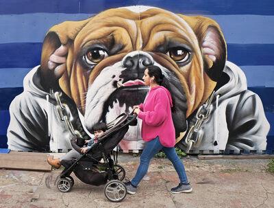 Neil O. Lawner, 'Baby Carriage & Tongue, Bushwick'