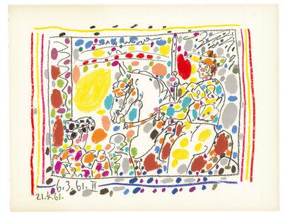 Pablo Picasso, 'Le Picador II (A los Toros)', 1961