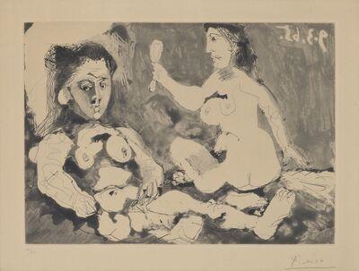 Pablo Picasso, 'Femmes à leur toilette II', 1965