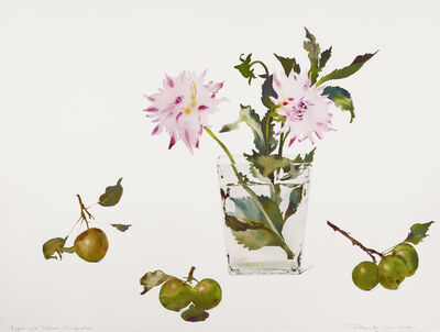 Susan Headley Van Campen, 'Apples and Dahlias, September', 2020