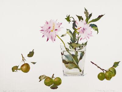 Susan Headley Van Campen, 'Apples and Dahlias, September', 2020
