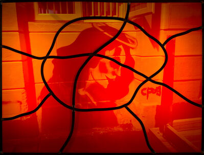 Sarkis, 'Red stained glass series No:3', 2020