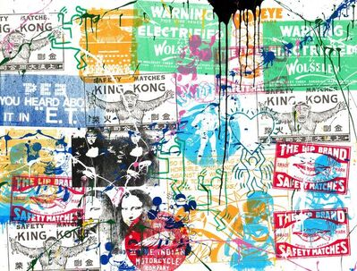 Mr. Brainwash, 'Pop Scene (PS19009)', 2019