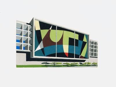 Armando Barrios, 'Boceto (abstracto) para Mural Escuela Municipal. Barquisimeto. Venezuela', 1952