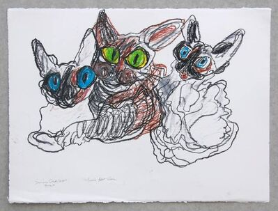 Simone Gad, 'Trois Amis', 2016