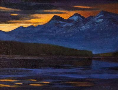 Warren Gossett, 'Mountain Sunset', ca. 1998