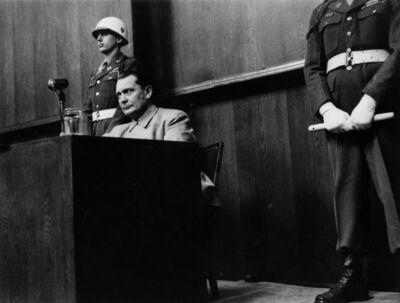 Yevgeny Khaldei, 'Goering on Witness Stand, Nuremberg', 1946