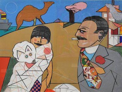 Richard Merkin, 'Oedipus and Luxor', 1975-1985