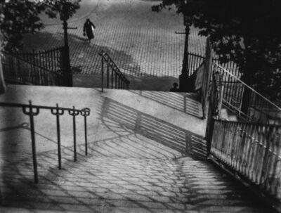 André Kertész, 'Stairs of Montmartre, Paris.', 1980