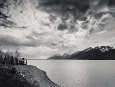Alan Ross, 'Jackson Lake, Clouds, Grand Teton National Park', 1975