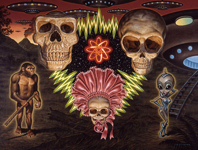 Todd Schorr, 'Missing Link Hypothesis'
