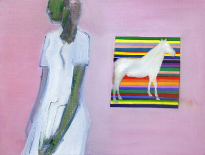 Tom Hammick, 'Horse and Girl', 2015