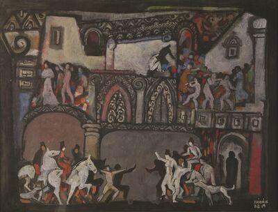 Bela Kadar, 'Figures and Horses', 1877-1956